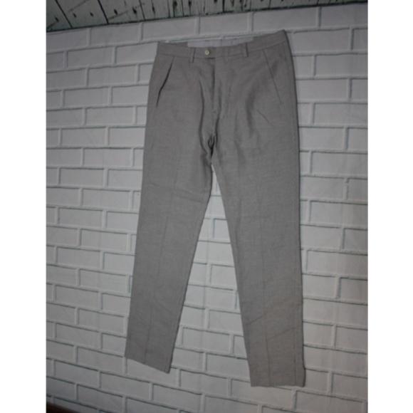 589a6262 Zara Pants | Man Slim Fit Gray Chino | Poshmark